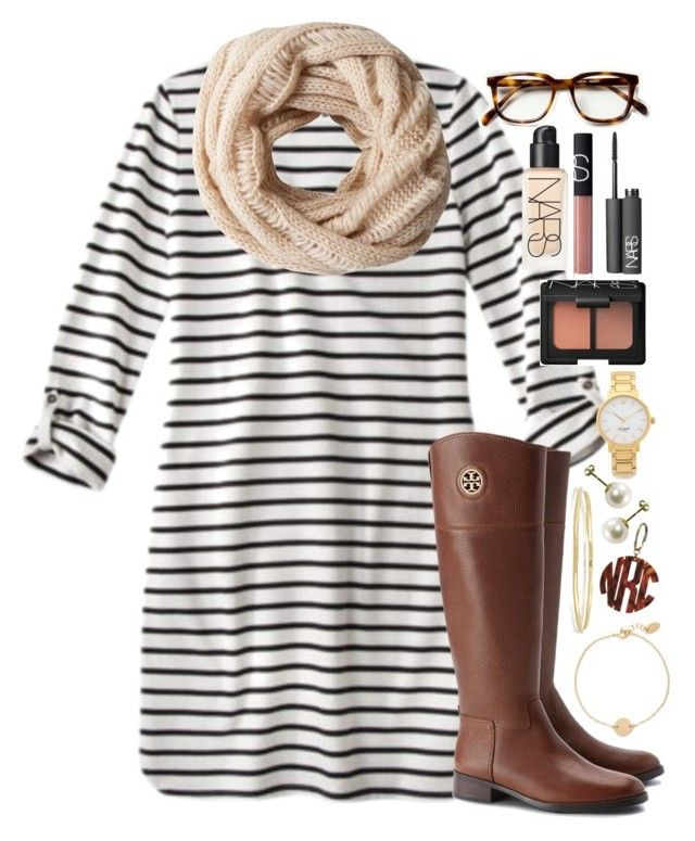 """""""Waiting for fall"""" by lauren-hailey ❤ liked on Polyvore featuring Tory Burch, A.Forty Three, NARS Cosmetics, Kate Spade, Nashelle and Ippolita"""