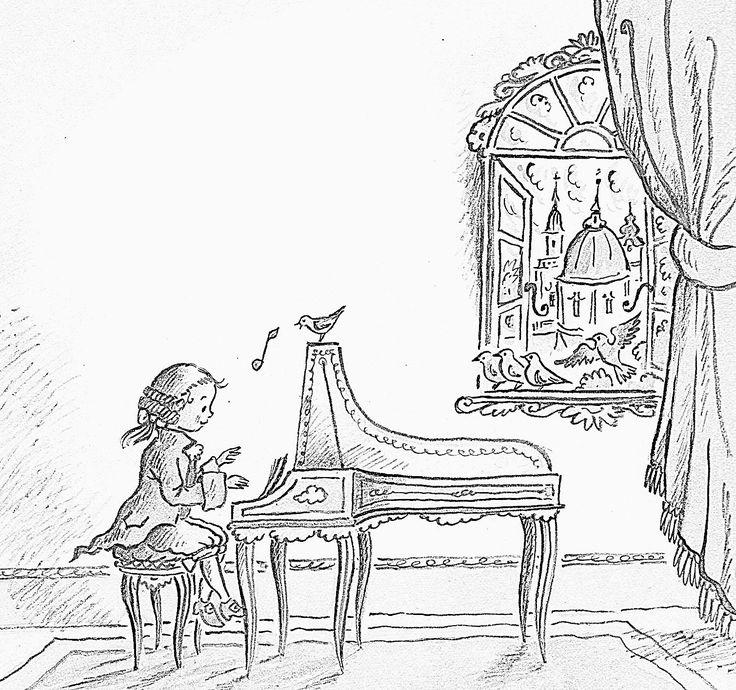 Pintar a Mozart