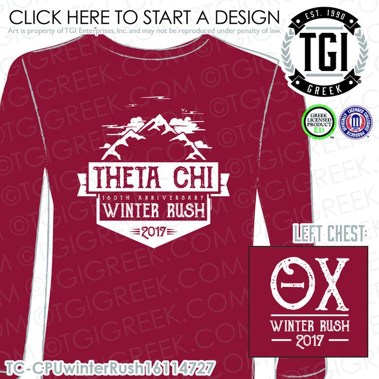 46 best theta chi images on pinterest fraternity greek for Rush custom t shirts