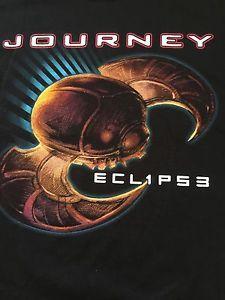 Journey 034 Eclipse 034 Tour Tshirt 2012 Sz 2XL Pat Benatar Loverboy Concert New | eBay