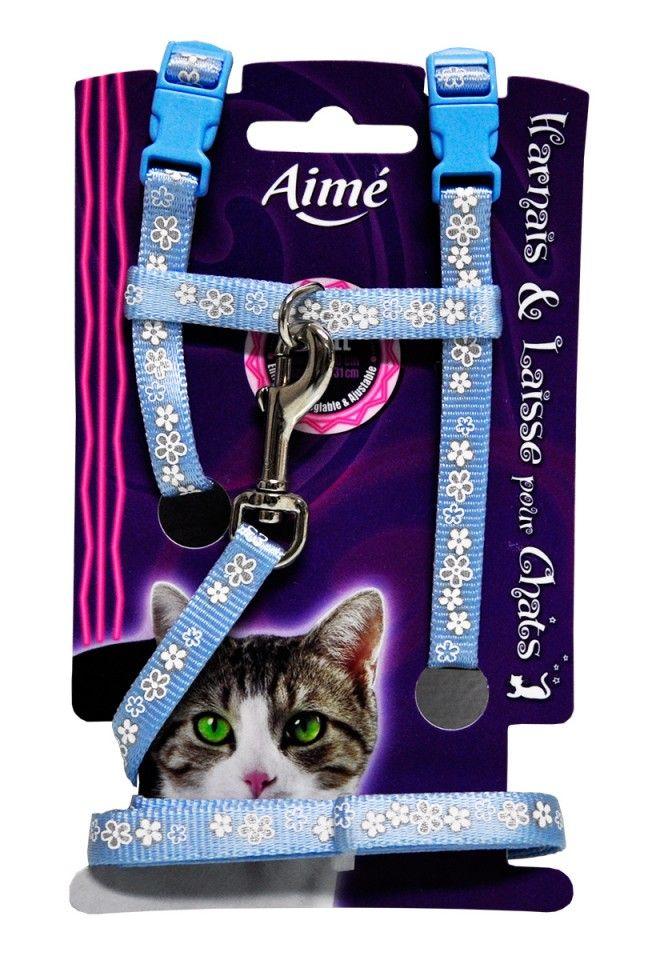 Esti in cautarea unei lese dragute pentru pisica ta? La noi gasesti si pe albastru si pe roz, ambele superdragute!