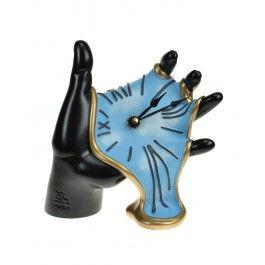 Timpul ti se scurge printre degete. Si la propriu si la figurat -  Ceas  de birou mana Tavolo - Antartidee