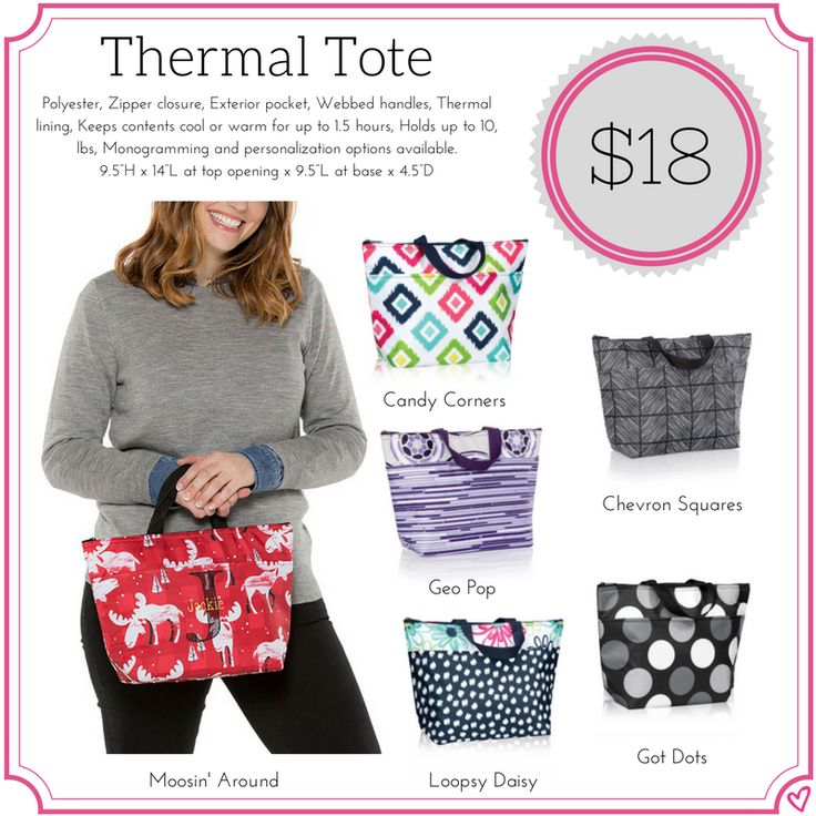 Thirty One Thermal Tote Fall/Winter 2017