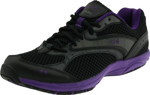 #Ryka Women�s Dash Athletic, Black/Purple Wave/Metallic Steel Grey women womens women's woman womans woman's footwear foot wear fashion style dress work working casual career bootie booties boot boots clog clogs flat flats flip flop flip flops heel heels loafer loafers mule mules platform platforms pump pumps sandal sandals sneaker sneakers wedge wedges runner runners running shoes shoe  #Heeled Sandals #2dayslook #Heeled fashion #sandalstyle  www.2dayslook.com