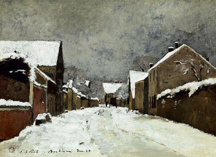 File:Paál László - 1873 - Havas barbizoni utca (Barbizon).jpg