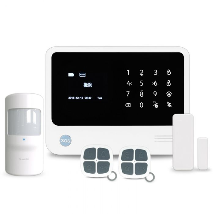 Hot Sale!!! Smart Home Security Alarm System G90B with Android/IOS APP WiFi…