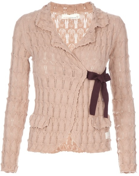 Odd Molly Lovely Knit Cardigan in Pink - Lyst