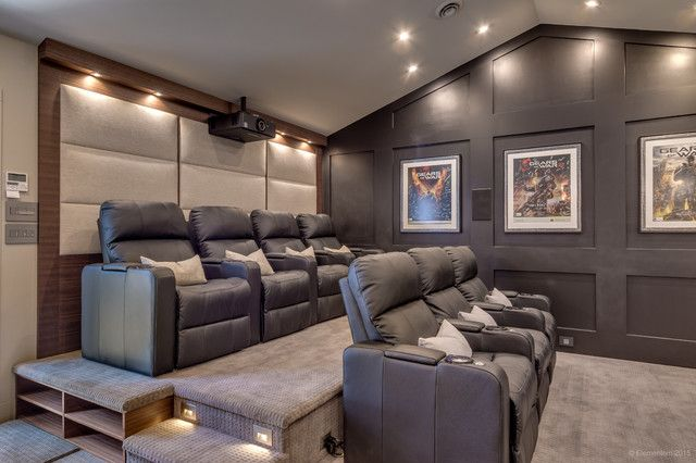 Home theater garage conversion - Fun and Functional Garage Conversion Ideas