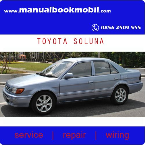 CD) Service Manual Toyota Soluna