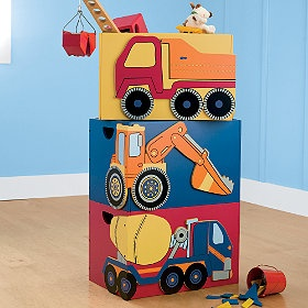 Construction themed room
