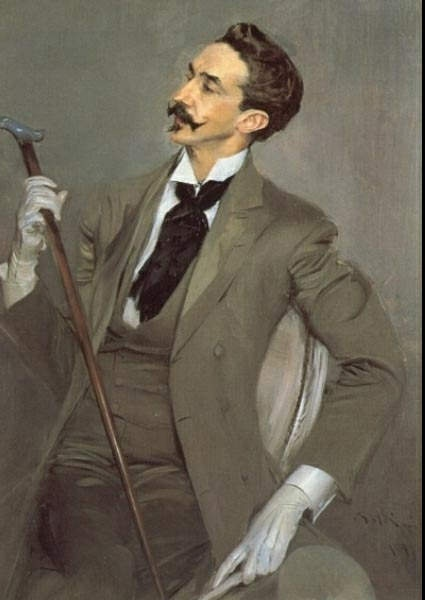 Love this painting. Count Robert de Montesquiou by Giovanni Boldini.