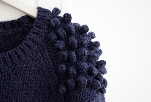 My Garden Cherries: Monday Knitting Inspiration