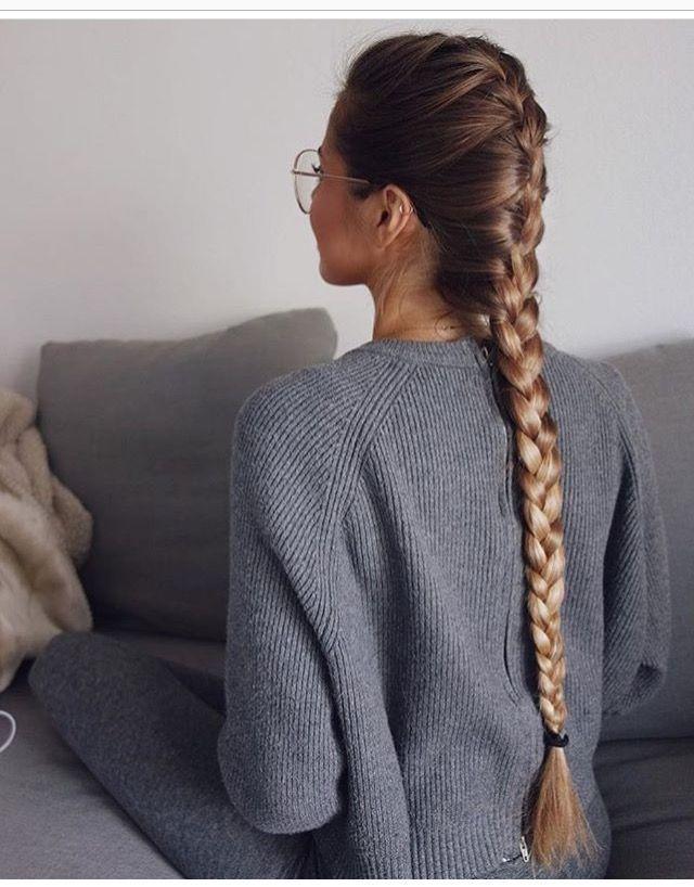 Longue tresse  hair style
