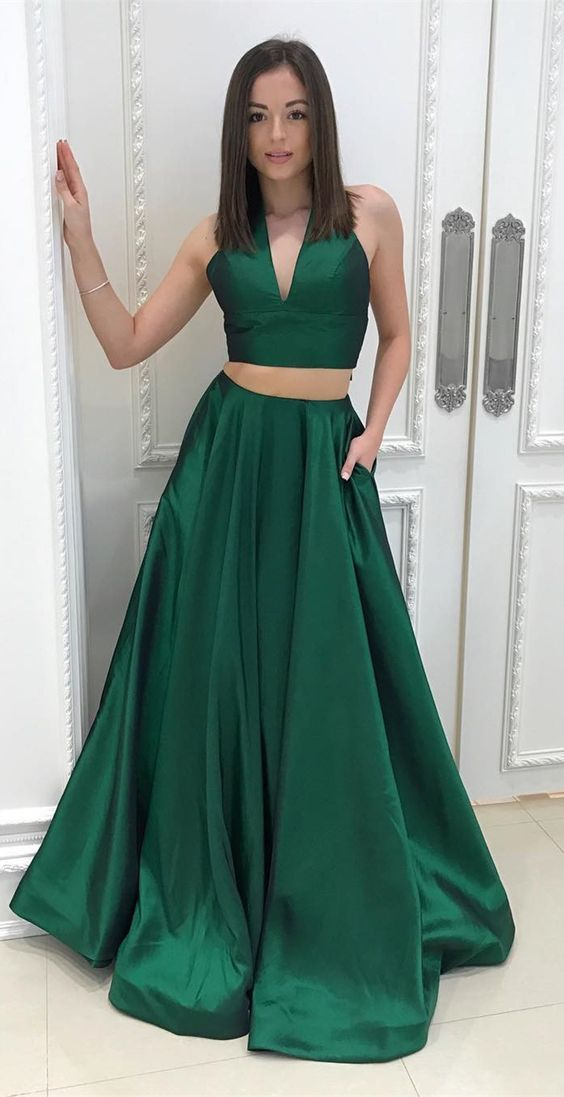 Dark Green Prom Dresses Vestido De Festa New