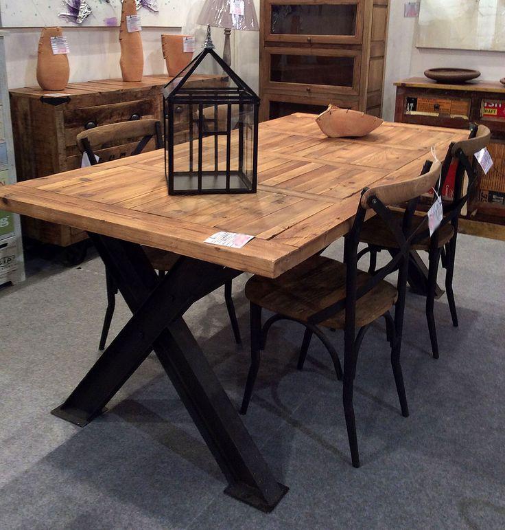 Oltre 25 fantastiche idee su Tavolo in ferro su Pinterest  Tavolo in legno, Mobili in acciaio e ...
