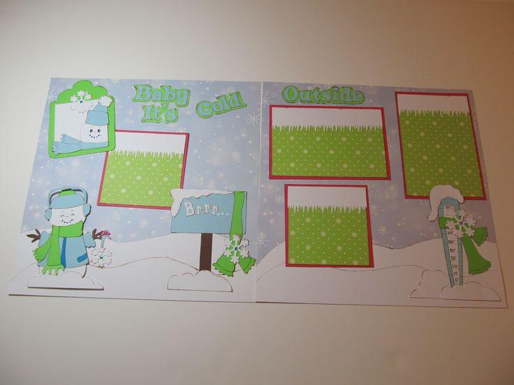 scrapbook baby layouts   ... Cricut Designs & More ...