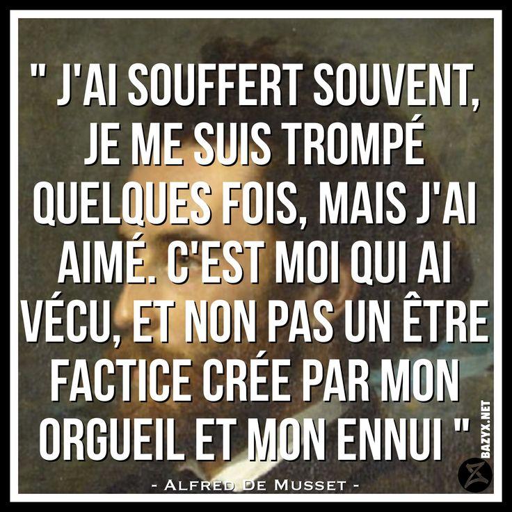 - Alfred de Musset -