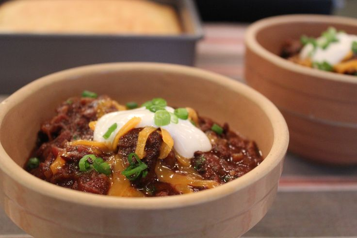 Mardi Gras isn't your average party, and this isn't your average chili. Made with large chunks of beef chuck (instead of ground beef), and cooked slowly in tomatoes, beer, and a bit of chocolate, this chili is sure to be the star of your party. Emeril's Chuck Wagon Chili For The Slow Cooker