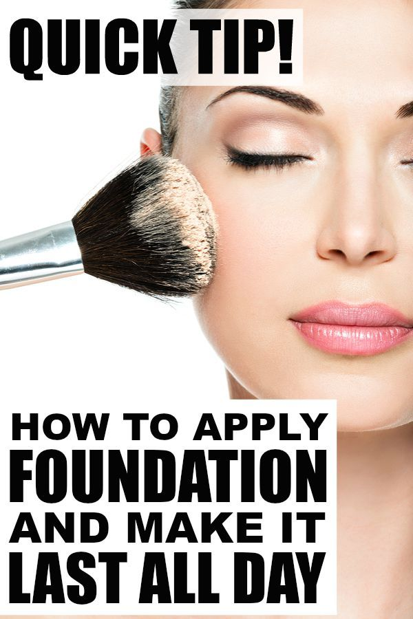 Best way to apply foundation for flawless skin