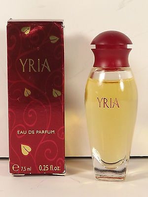 YRIA Eau de Parfum Yves Rocher France .25 fl oz Miniature Boxed Fragrance