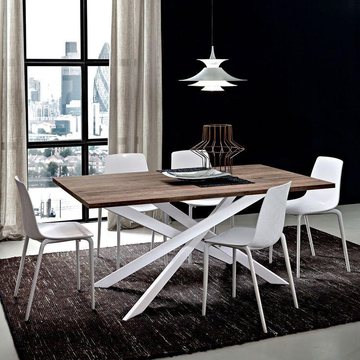 Pi di 25 fantastiche idee su gambe del tavolo su - Tavolo salone moderno ...