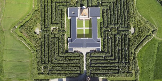 Get Lost In The World's Biggest Labyrinth