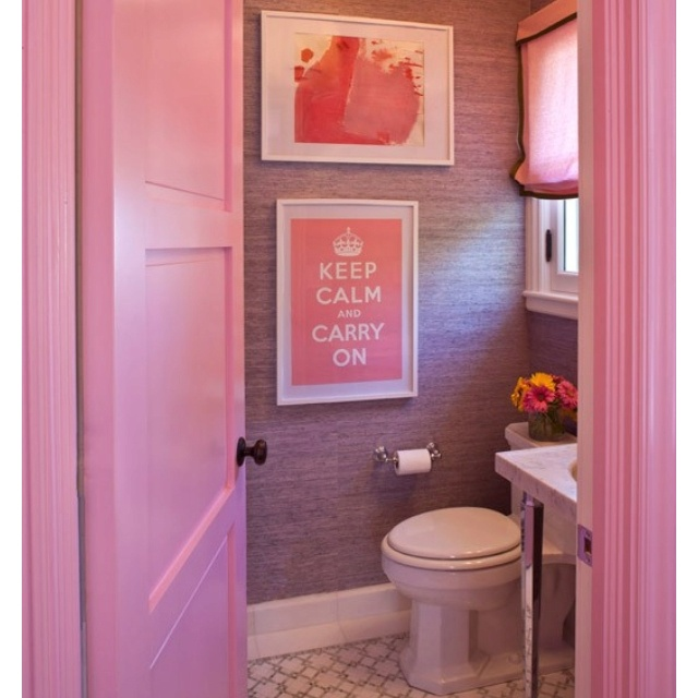 24 best images about save update help our 50s pink and for Pink and green bathroom ideas