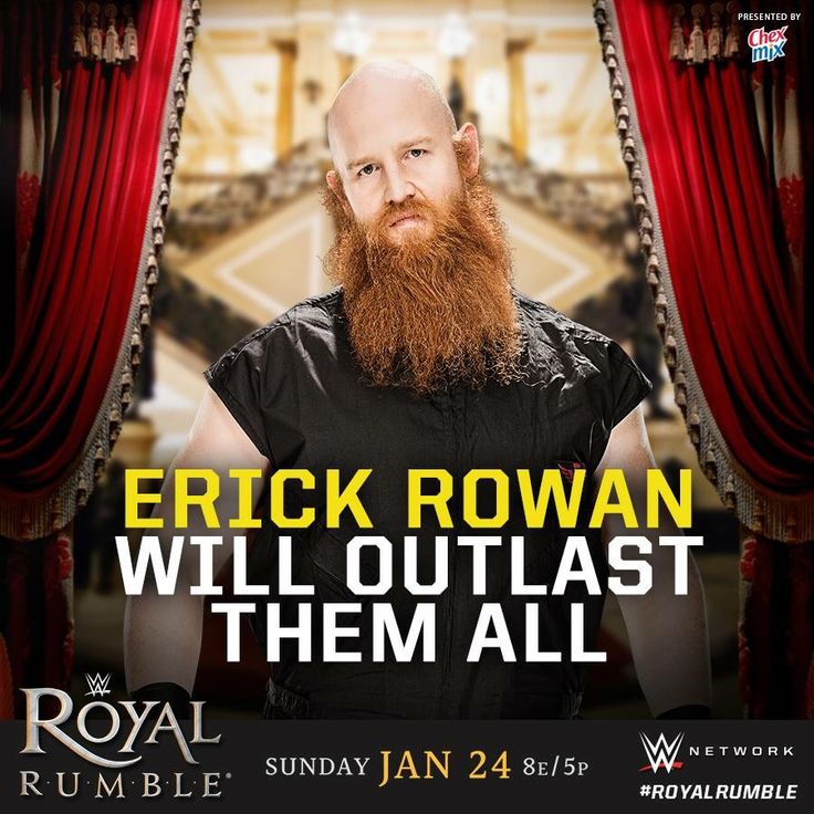 WWE Royal Rumble 2016: Erick Rowan will outlast them all.