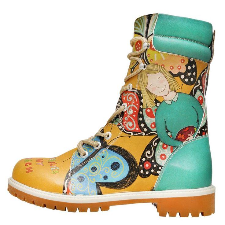 Damen Boots - Super Boots - Butterflies in My Stomach | DOGO Schuhe, 109,95 €