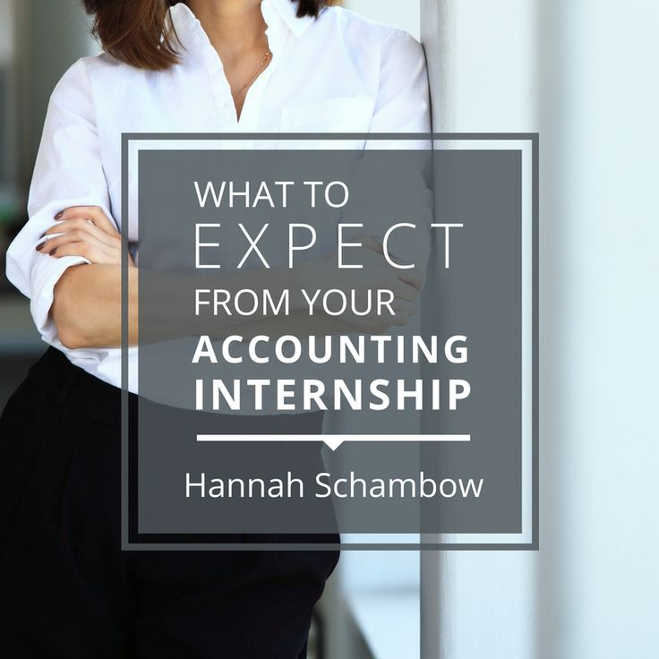 Hear From Real Students Who Just Completed Their Internship Program With A  Public Accounting Firm.