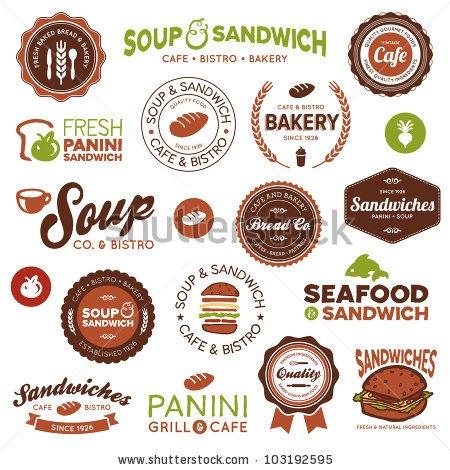 sandwich shop logo - Google Search
