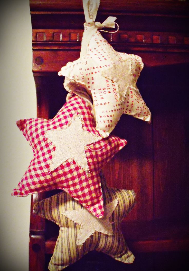 primitive christmas decorations | pc Primitive Americana Country Holiday Decorations