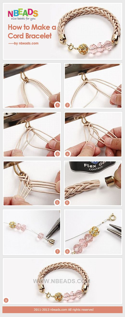Summary: Making rubber cord bracelets is something that may take you about more than half an hour. Some may need even more time beacause the braiding process is a little bit complicated with 8 strands for a braiding novice. Yet it is definitely worthwhil