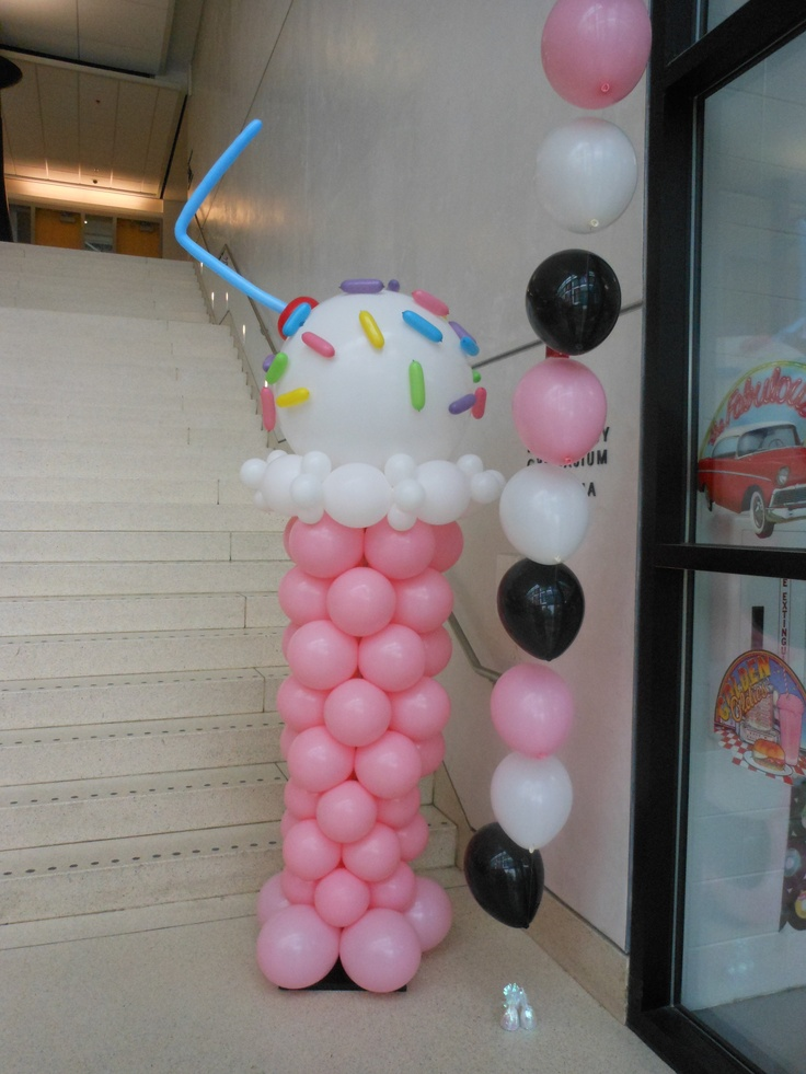 Really cute idea 50s party decorations party ideas for 50 s party decoration ideas