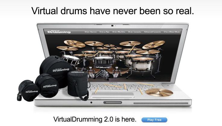 Virtual Drumming - Play Free Online Drum Sets - https://appedreview.com/app/virtual-drumming-play-free-online-drum-sets/