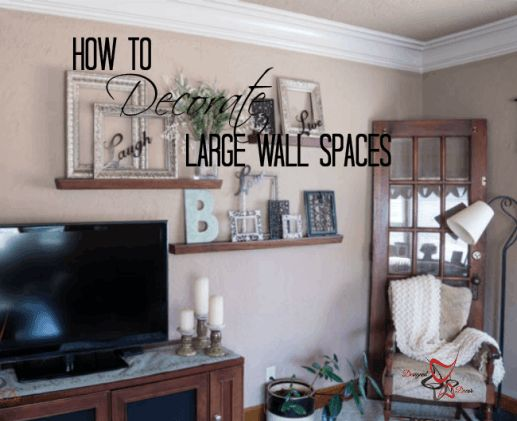 wall decorating ideas spaces decorating decorating sos large wall