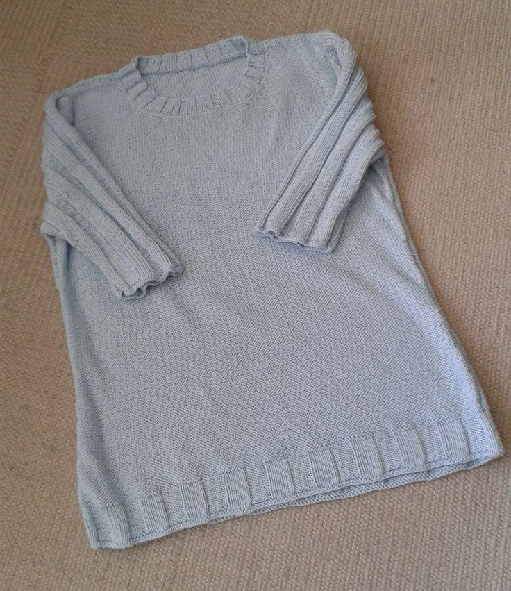 Strickanleitungen der sommerlichen Modelle in Baumwolle bei domoras