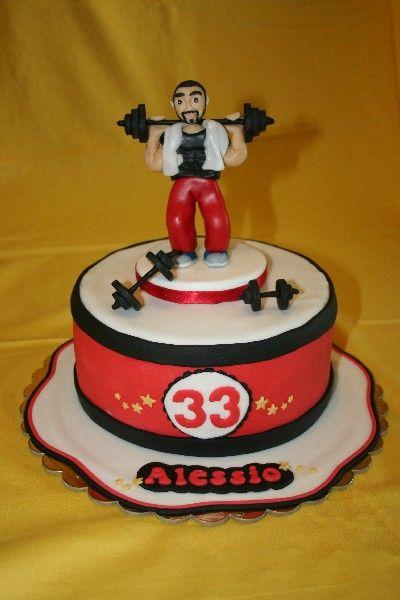#Torta palestra #Torta pesistica #Gym man cake #Gym cake #