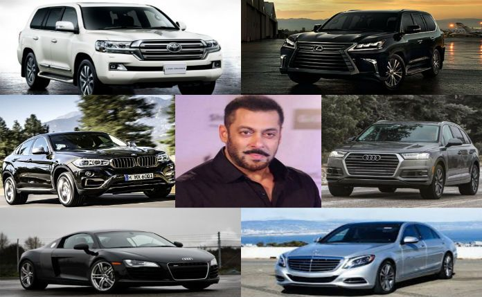 """#SalmanKhan has been known as the Bhai of """"Bollywood"""" for a long time now. His persona on and off the screen is full of machismo and toughness. He played the many roles of in his movies, currently portrayed """"Sultan"""", an Olympic winning wrestler from Haryana who goes on to fight in an MMA championship. Today we give you out the whole of his garage which consists of a majority of SUVs."""
