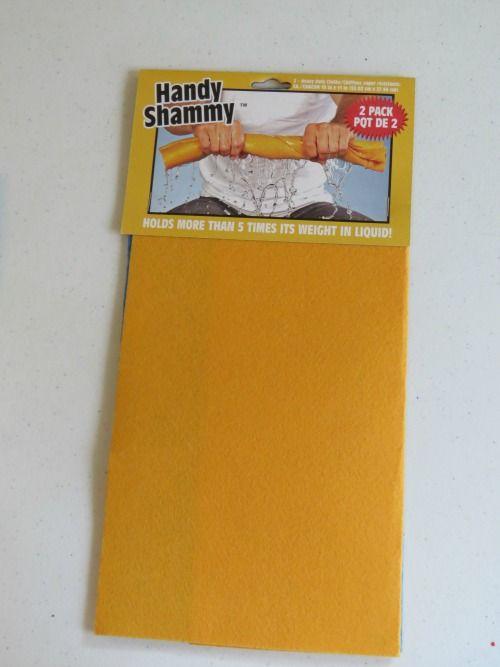 DIY Fingerprint Paint Pads by Teach Preschool *Handy Shammy* from Dollar Tree