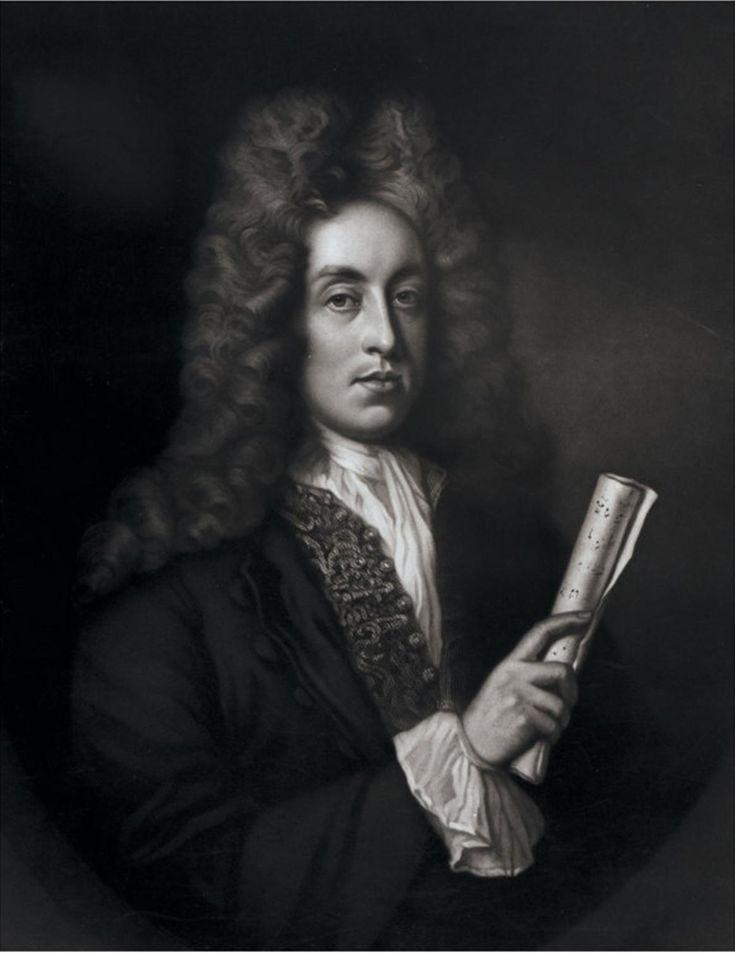 Henry Purcell (1659-1695) compositeur baroque anglais, auteur de l'opéra Didon…