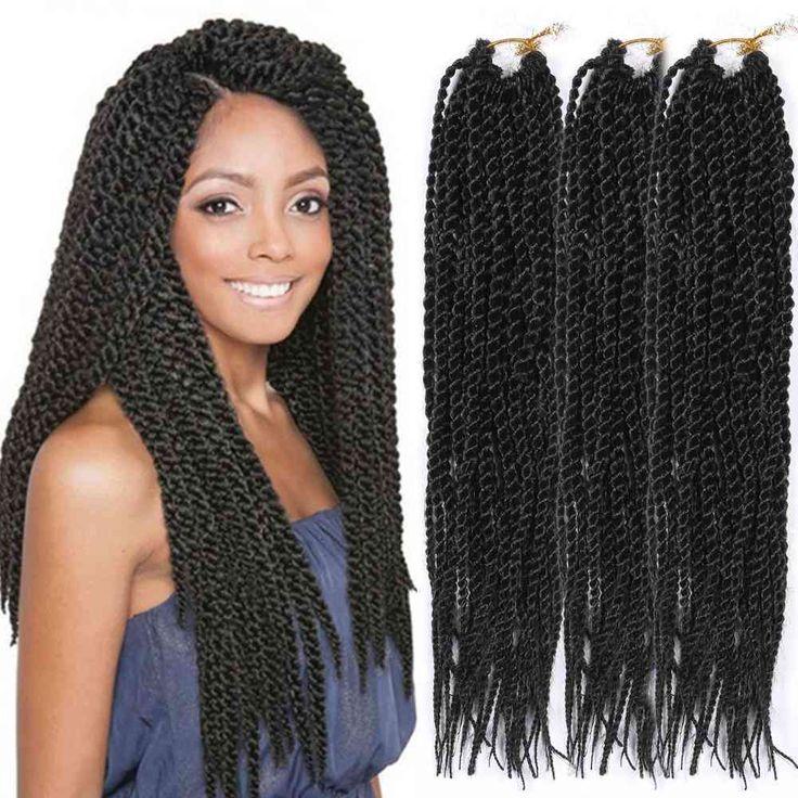 34 best havana mambo twist crochet braid images on pinterest 3 bundles 27 strand pretwist synthetic crochet braid hair extensions 14 black pmusecretfo Image collections