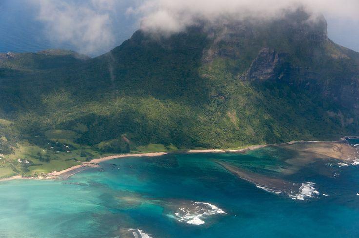 Aerial View of Lord Howe IslandAustralia, Photos Essay, Aerial View, Lord Howe Islands, Islands Beach Ocean