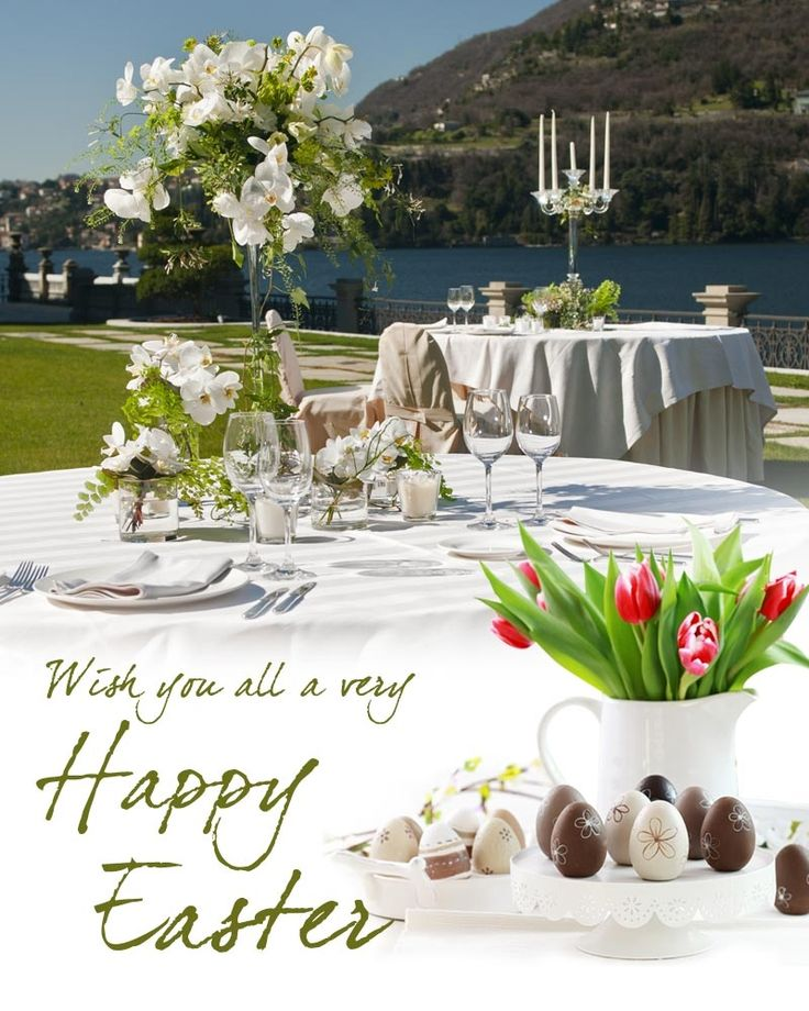 Happy Easter from #CastaDiva #Resort & #SPA. Buona Pasqua! Wishing you all joy, happiness and love at Easter and always! #Celebrate #Easter on the #magic #shores of #LakeComo #Travel #Luxury #Lifestyle