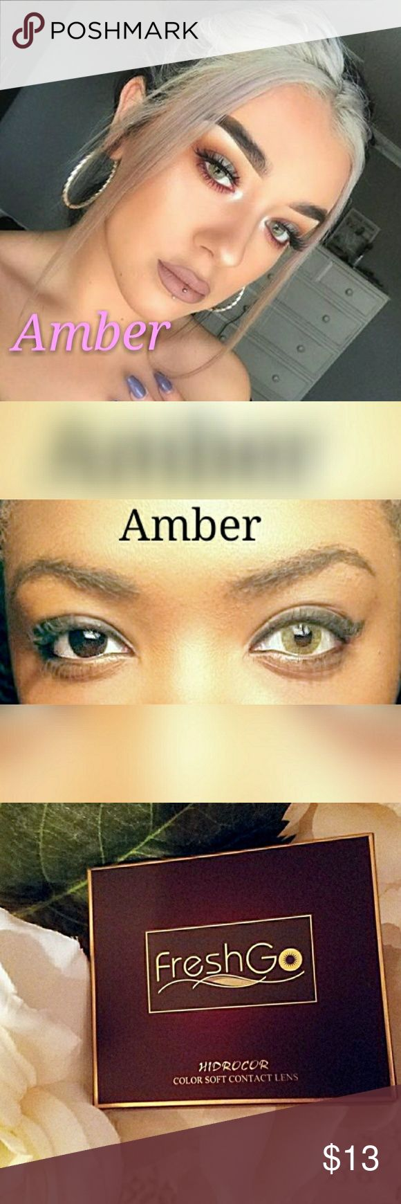 🎀Amber🎀 COLOR CONTACT LENSES ✔ Fast Shipping!  ✔ brand new in box ✔ lasts twelv month Other