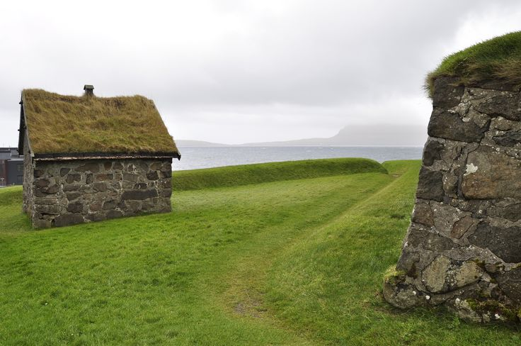 Skansin, the small fort was built in 1580.