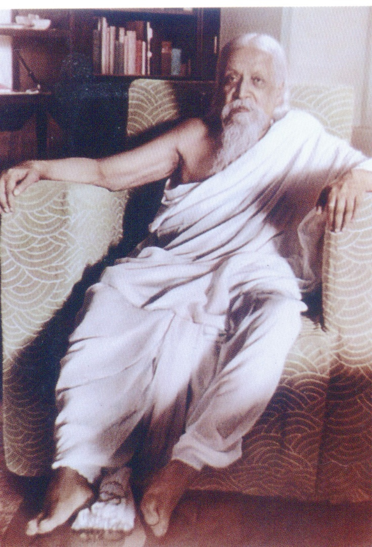 Sri Aurobindo (শ্রী অরবিন্দ) (15 August 1872 – 5 December 1950), born Aurobindo Ghosh or Ghose (অরবিন্দ ঘোষ), was an Indian nationalist, freedom fighter, philosopher, yogi, guru, and poet.  He joined the Indian movement for freedom from British rule and for a duration became one of its most important (and radical) leaders, before developing his own vision of human progress and spiritual evolution.   Visionary author of SAVITRI.