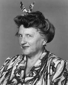 """Marjorie Main (AKA Mary Tomlinson) Born 1890 in Acton, IN. Died 1975. Main began playing upper class dowagers, but was ultimately typecast in abrasive, domineering, salty roles, for which her distinct voice was well suited. Perhaps her most famous role is that of """"Ma Kettle"""", which she first played in The Egg and I in 1947 opposite Percy Kilbride as """"Pa Kettle"""" - portrayed the character in nine more Ma and Pa Kettle films."""