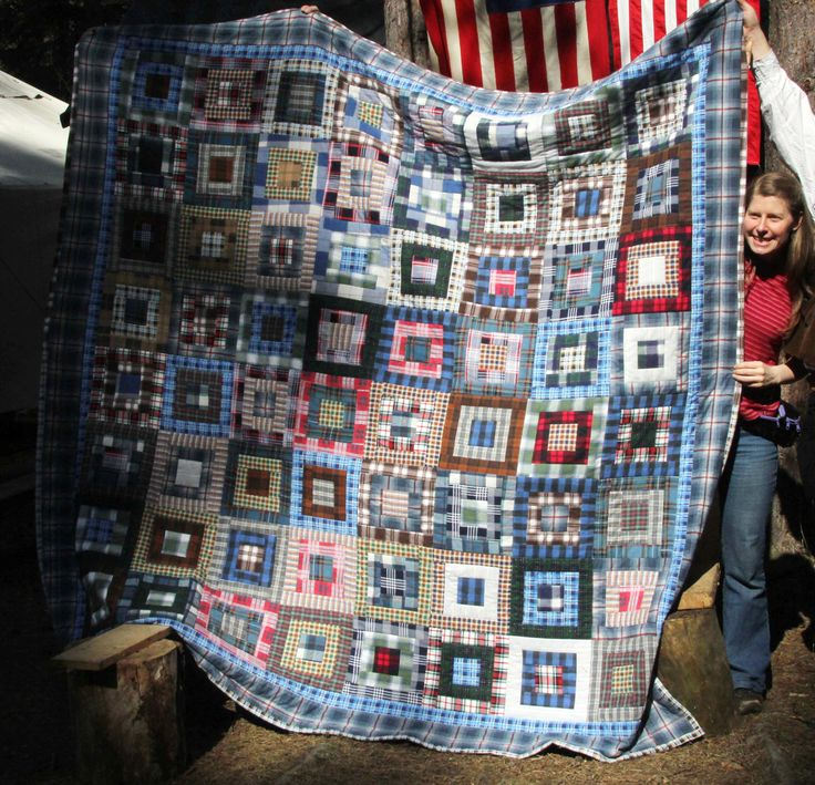 Flanel quilt (2012)