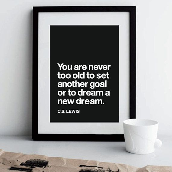 Inspirational Quote Motivational Print Art by TheMotivatedType, $12.00